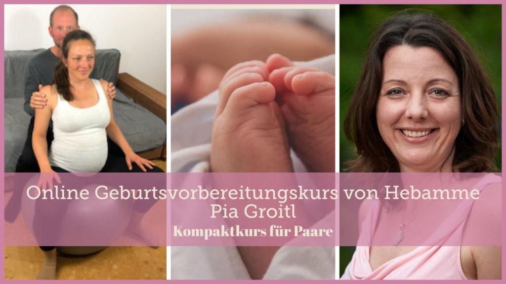Online Kurs zur Geburtsvorbereitung